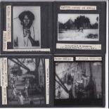 Port Said and Port Sudan b/w Magic Lantern Slides (6) produced by F.H. Marlow including: Port Said -