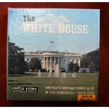 The White House 'America's Heritage Comes Alive in this Remarkable Photo Tour!' Cine Film Std 8mm in