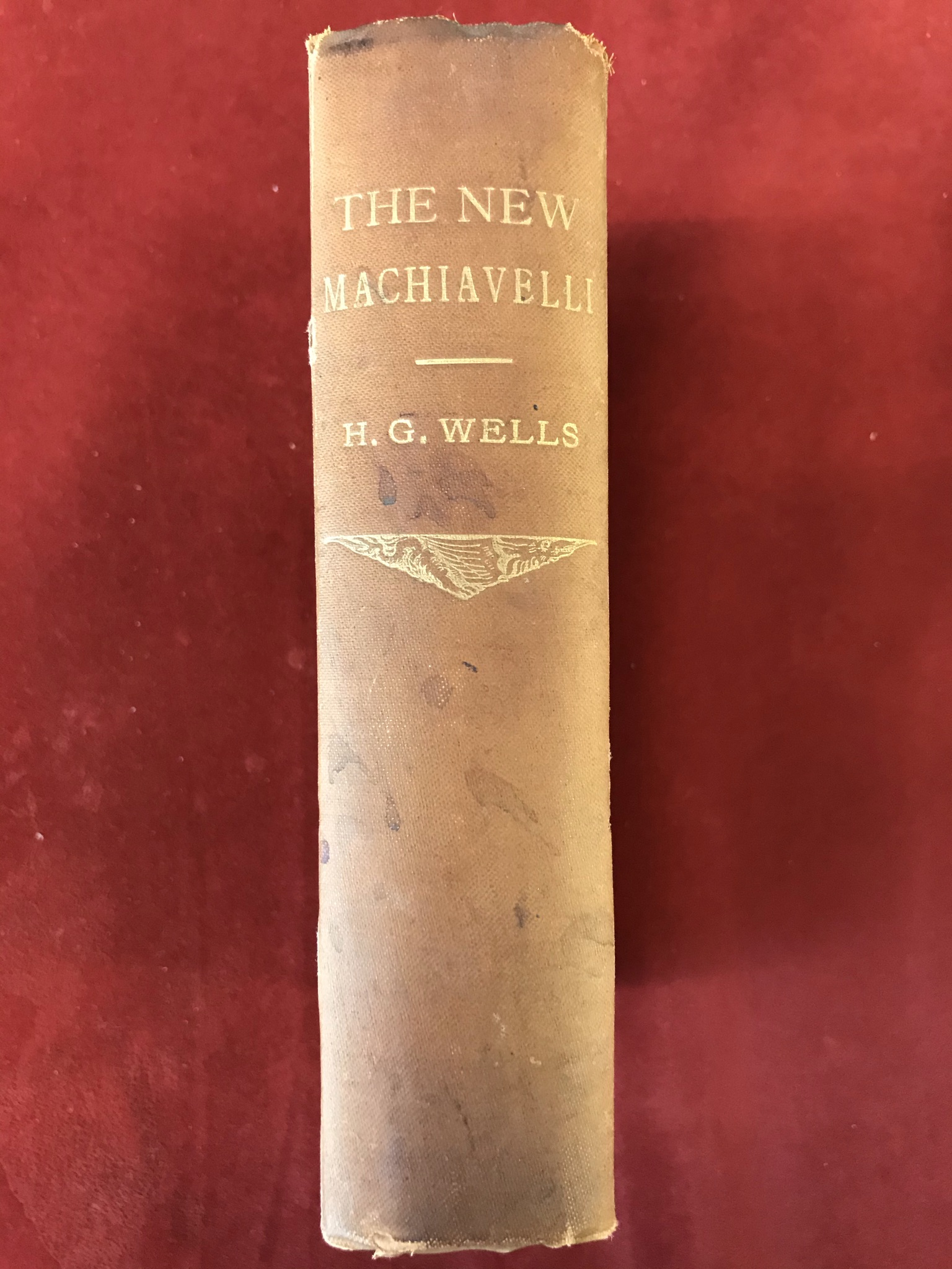 The New MachiavelliFirst edition, 1911 - Image 2 of 3