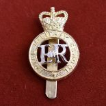 Duke of York's Military School , Dover Cap Badge (Anodised), slider and made Dowler, issued: