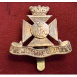 The Wiltshire Regiment WWI Cap Badge (Gilding-metal), slider