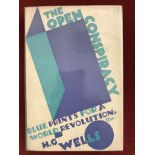 The Open ConspiracyFirst edition with D/W, very good condition (together with 3 contemporary