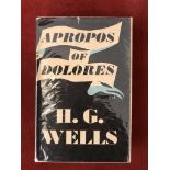 Apropos of DoloresFirst edition with D/W, 1938