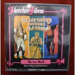 The Lost World Black and White Super 8mm Cine Film, Hollywood Screen classics by Fletcher Films