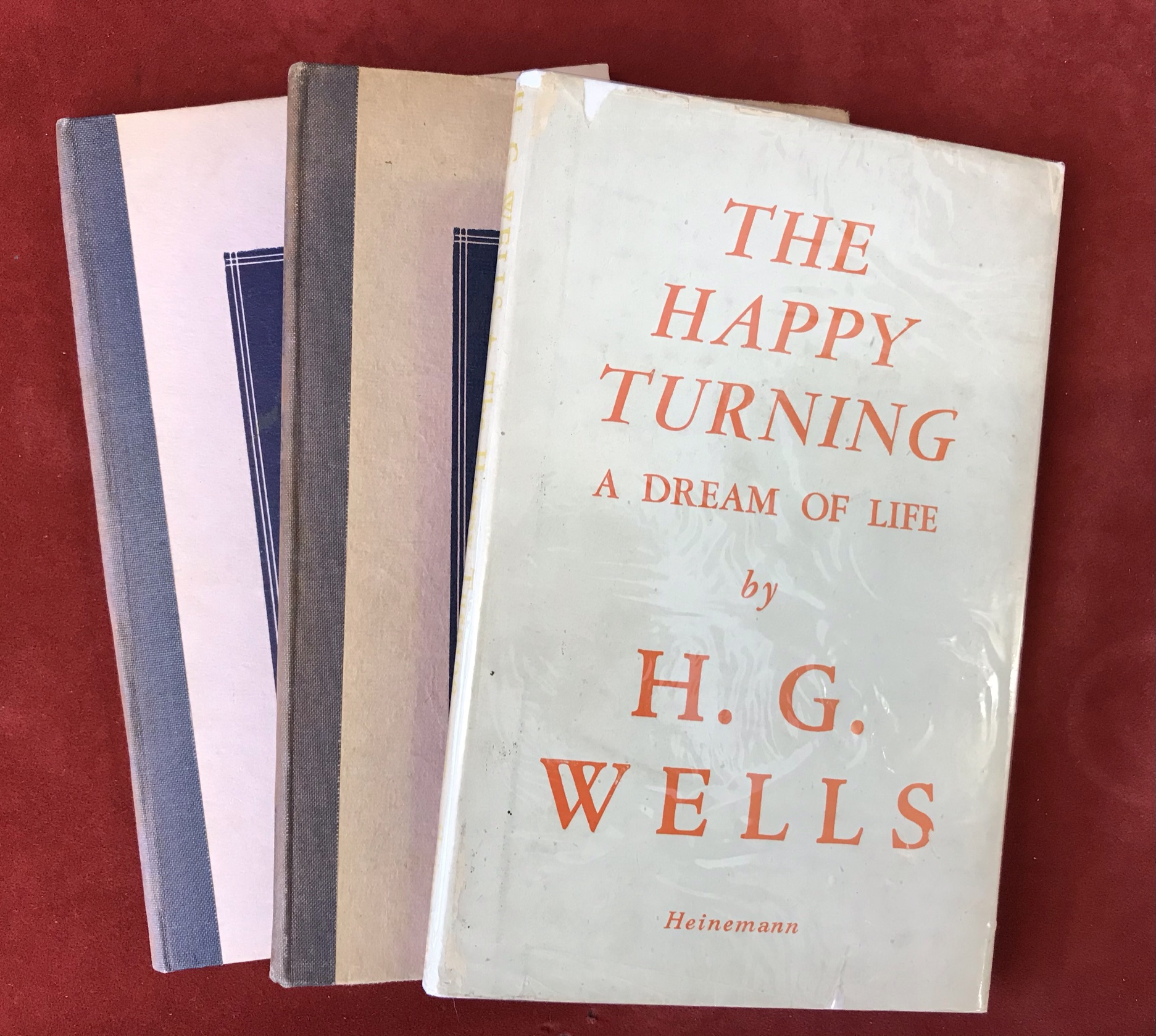 The Happy Turningthree copies, one with D/W, very good condition, two without D/W, 1945