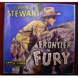 Frontier Fury (Winchester 73) staring James Stewart Cine Film Super 8mm in B/W and Silent,