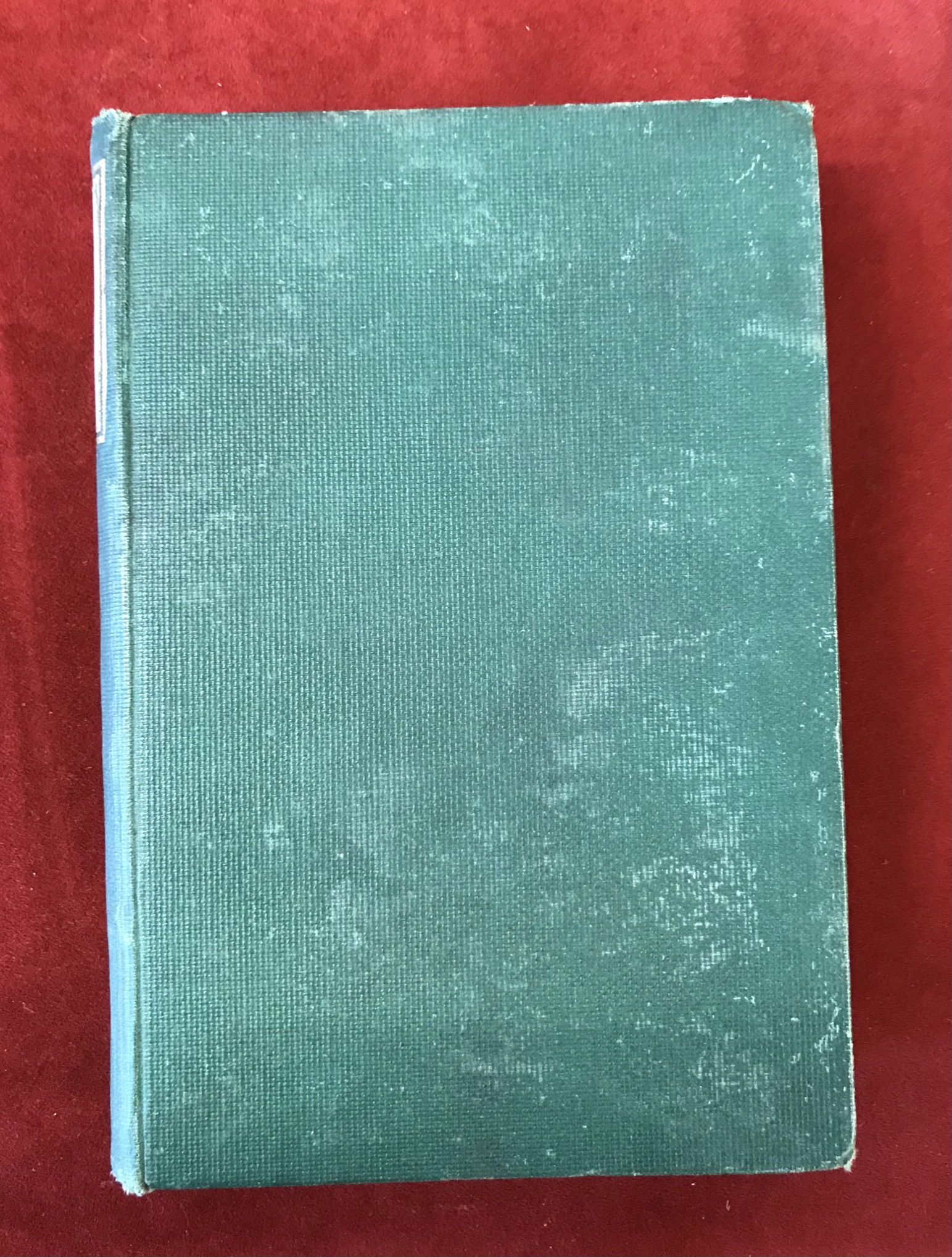 The History of Mr. PollyFirst edition, no D/W, flaked spine, 1910