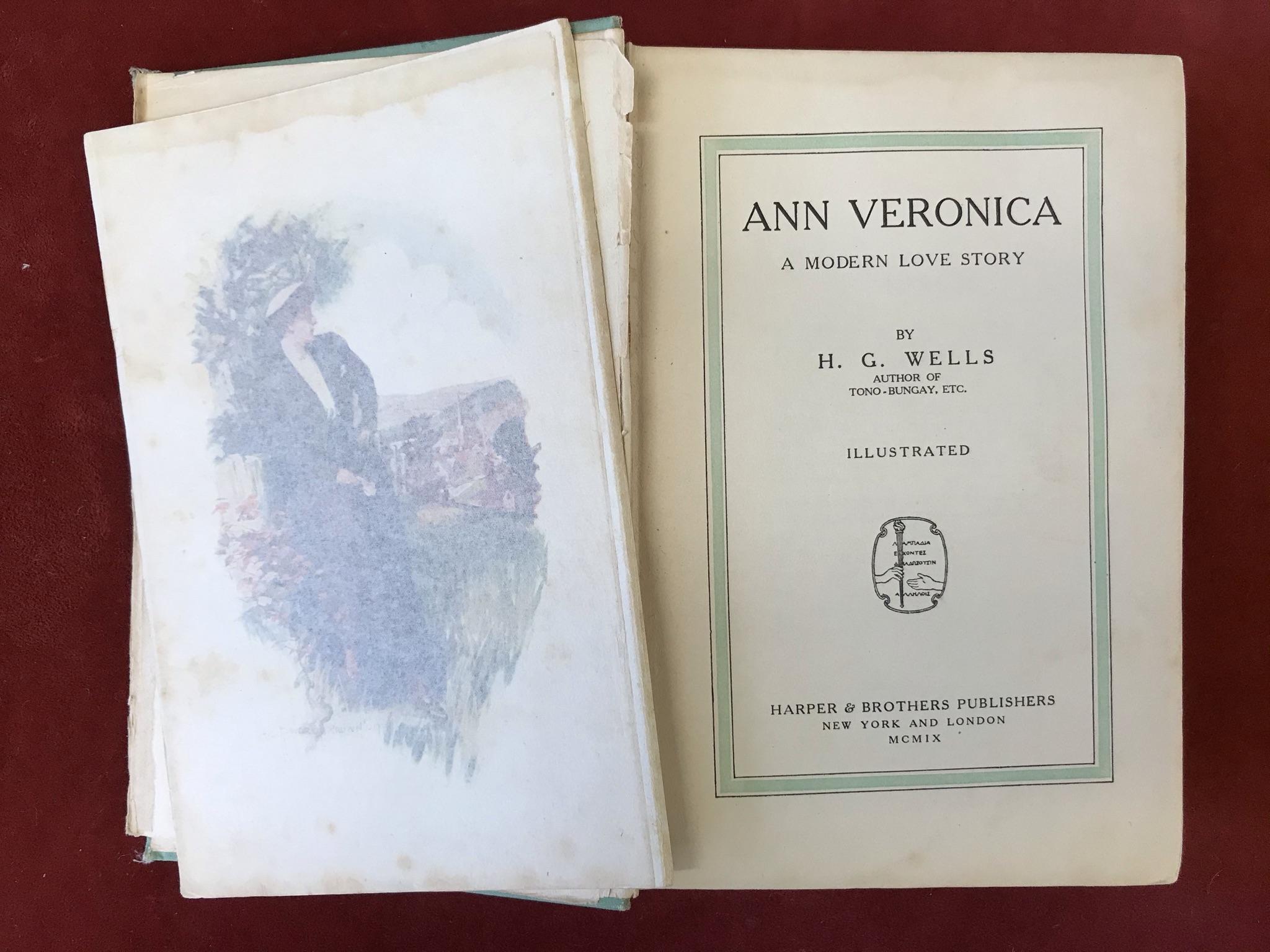 Ann VeronicaFirst U.S. edition, 1909 - Image 3 of 3
