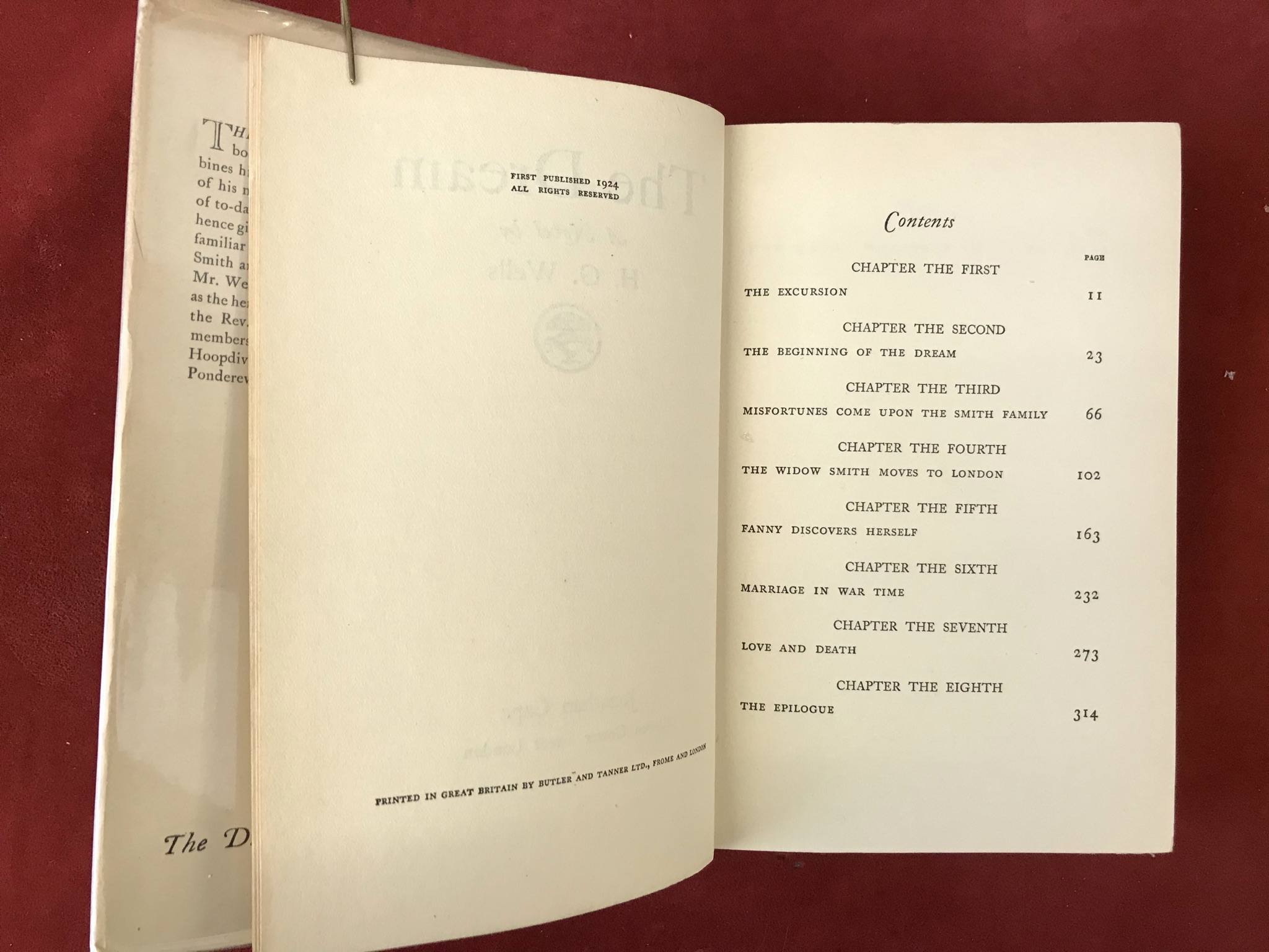 The DreamFirst edition with D/W, 1924 - Image 3 of 3