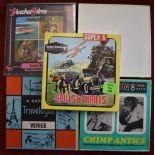 Standard and Super 8mm Film Reels including: Cowboy Rodeo, San Juan, Chimp Antics, Venice (A Capitol