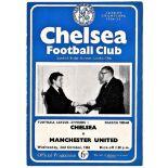 Chelsea v Manchester United 1963 October 2nd League