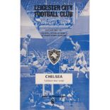 Leicester City v Chelsea 1967 May 9th League rusty staples