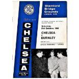 Chelsea v Burnley 1964 October 31st League Division 1