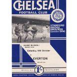 Chelsea v Everton 1967 October 14th League
