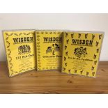 Cassette Tapes (3) Wisden Cricketers Almanack; Tea in The Pavilion, Overseas Tour and 137 Not