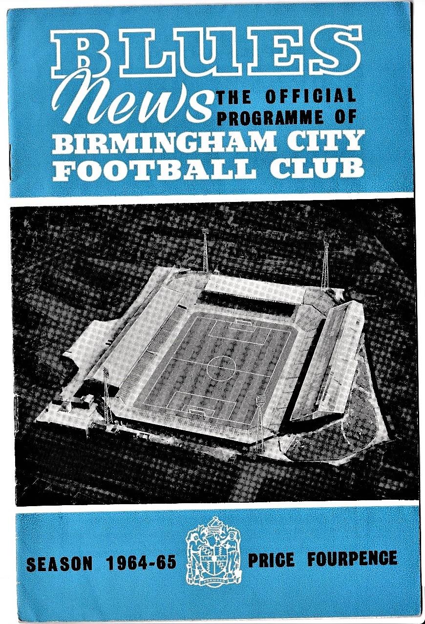 Birmingham City v Chelsea 1964 September 23rd League