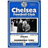 Chelsea v Huddersfield Town 1964 January 25th FA Cup Fourth Round