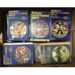1980-1989 Rothmans Football Yearbooks (10). Buyer collects this lot