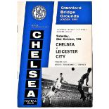 Chelsea v Leicester City 1965 October 23rd League