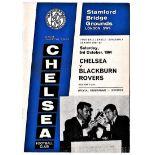 Chelsea v Blackburn Rovers 1964 October 3rd League