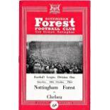 Nottingham Forest v Chelsea 1964 October 10th League