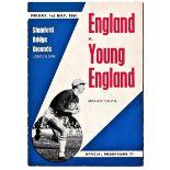 England v Young England at Stamford Bridge 1964 May 1st