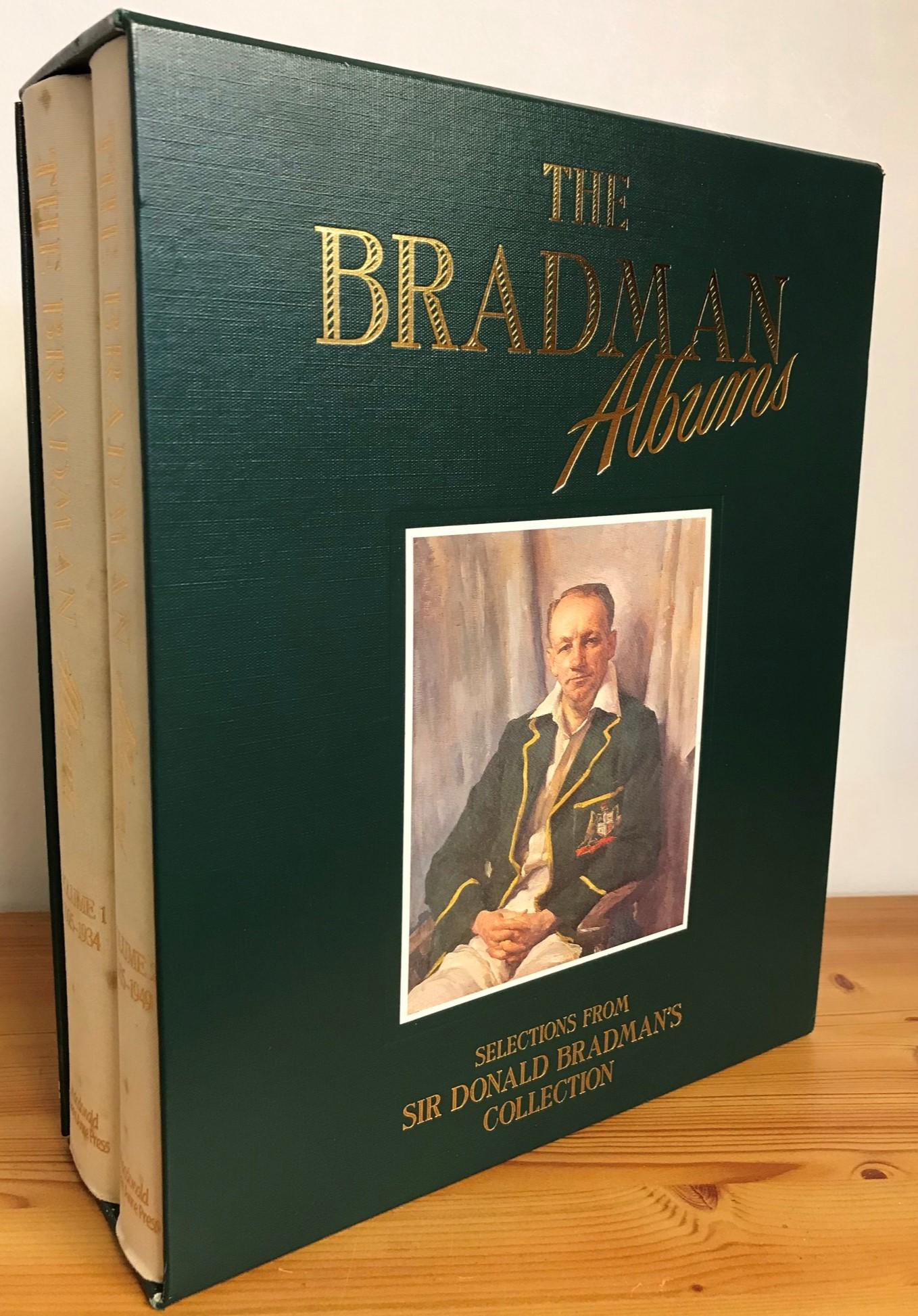 The Bradman Albums: Selections from Sir Donald Bradman's Collection two volumes