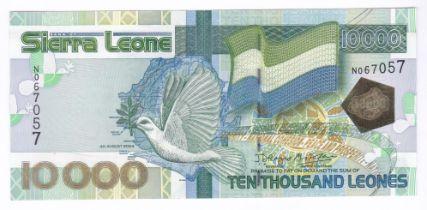 Sierra Leone - 2004 10,000 Leones, P29, AUNC