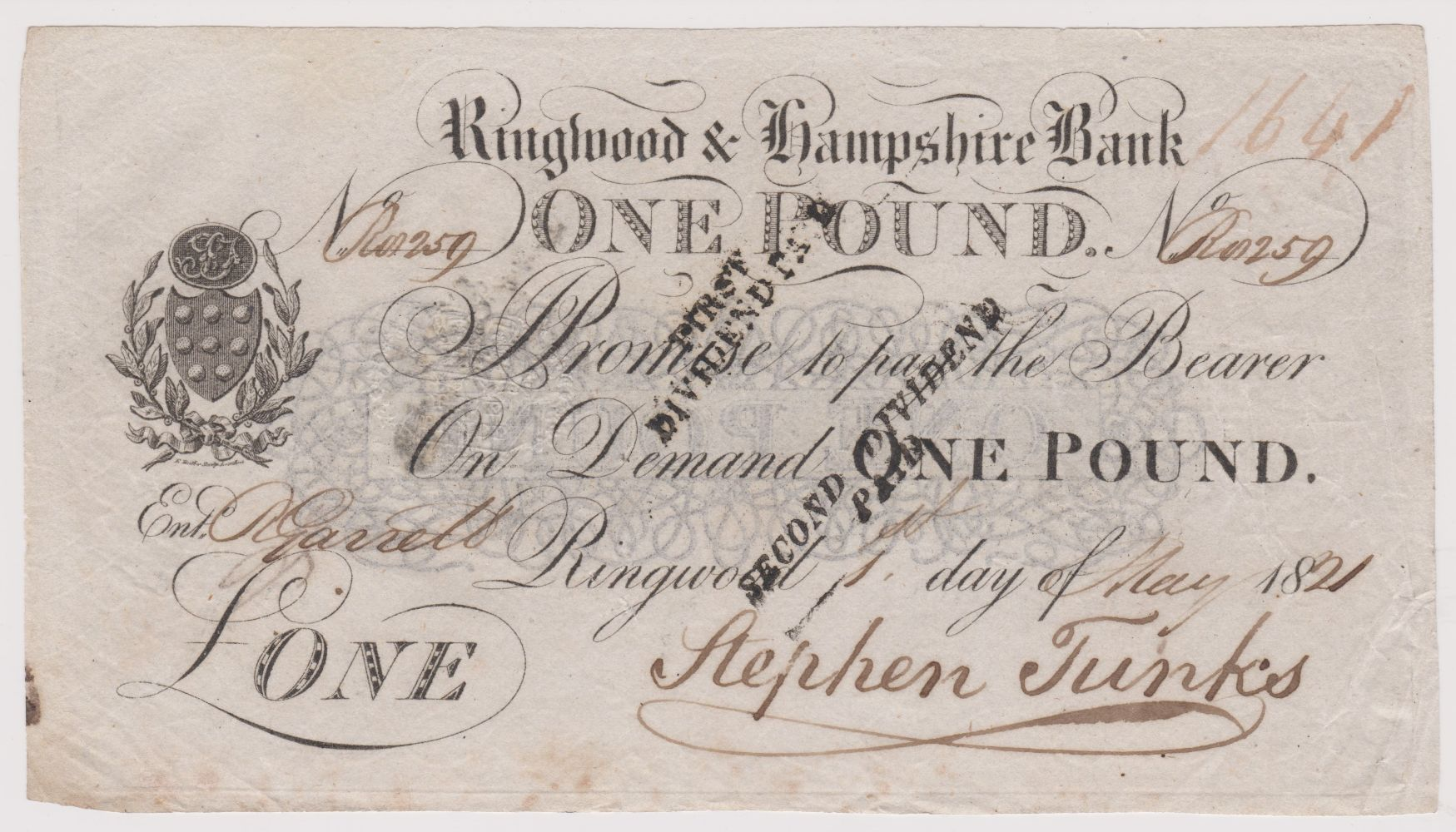 Auction -  incl: Fabric & Textiles (100 lots) Victorian to Bygones, Militaria WWII German Porcelain, Banknotes British & Foreign from 1821.