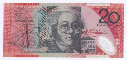 Australia - 1997 20 Dollars, Sig 'Macfarlane and Evans' P 53D, GVF+