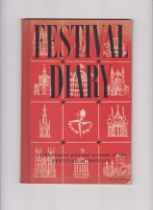 1951 Festival of Britain - Festival Diary, an illustrated personal account of the Festival of