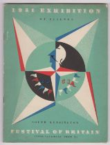 1951 Festival of Britain - Exhibition of Science, South Kensington Guide Catalogue, pale green cover