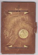 1951 Festival of Britain writing compendium