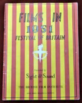 1951 Festival of Britain - Films in the Festival Published by Sight & Sound for the British Film
