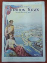 1951 Festival of Britain - London Illustrated News, The Exhibition's opening - Special Number, May
