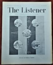 1951 Festival of Britain Edition of the Listener published by The British Broadcasting Corporation