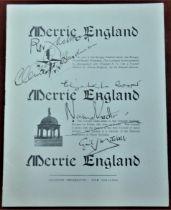 "1951 Festival of Britain - Bungay Festival Week Programme of ""Merrie England"" souvenir programme, in"