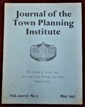 1951 Journal of the Town Planning Institute May 1951 Edition, Festival of Britain