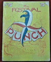 1951 The Festival of Britain Edition of Punch, good condition.