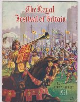 1951 The Royal Festival of Britain by Henry Garnet, published by The Worcester Press in good