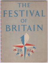 1951 The Festival of Britain published by The Festival Office, grey cover in very good condition