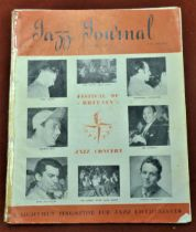 1951 (July/August) Jazz Journal Festival of Britain Edition (two copies), one taped at binding and