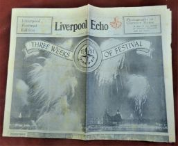 1951 Festival of Britain - Liverpool ECHO Festival of Britain Edition August 11 1951, Three Weeks of