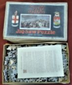 Jigsaw Puzzle by Chad Valley depicting the Great Western Railway Co. Box is a little grubby, it