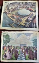1951 Festival of Britain - Folio Size colour prints of the 1951 Festival of Britain - South Bank