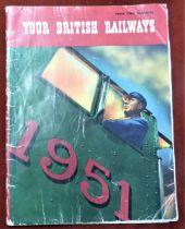 1951 Festival of Britain - Your British Railways Festival Edition in fair condition, scarce