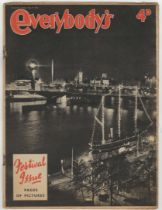 1951 Festival of Britain - Festival (Edition) Issue of Everybody's Magazine 'Pages of Pictures',