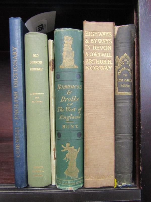 CORNISH BOOKS, Collins Trelawny 'Perranzabuloe' 1843 in original cloth, also Henderson & Coates 'Old