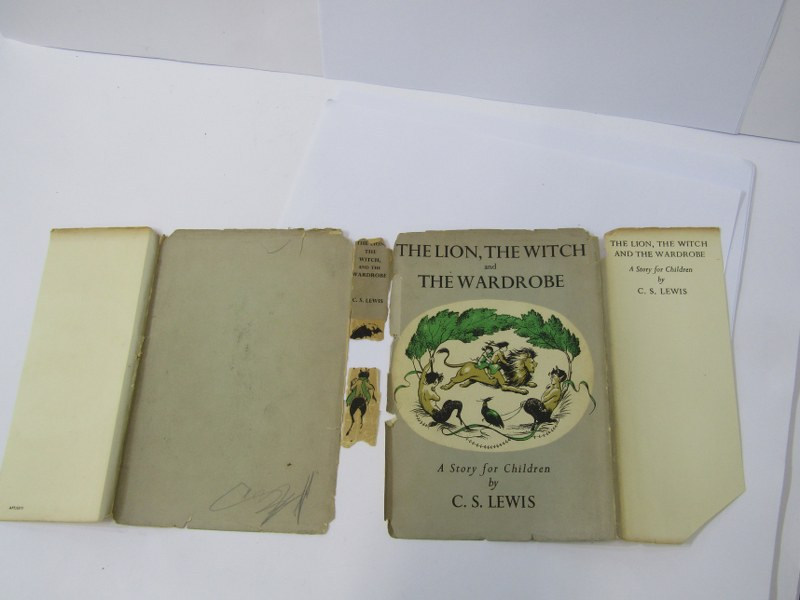 FIRST EDITION, 'The Lion, The Witch and The Wardrobe' 1950 first edition by C. S. Lewis, original - Image 4 of 4