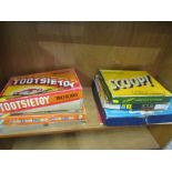 """VINTAGE AMERCIAN DIE-CAST TOYS, """"Tootsie Toy"""", boxed 4 vehicle set, together with """"Tootsie Toy"""